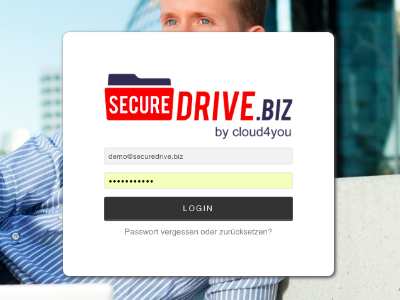 cloud4you SecureDrive Web Client